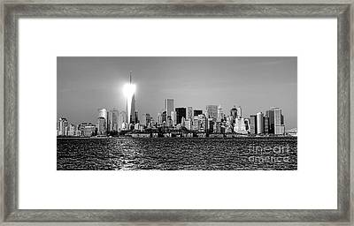 A City Reborn  Framed Print by Olivier Le Queinec