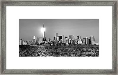 A City Reborn  Framed Print