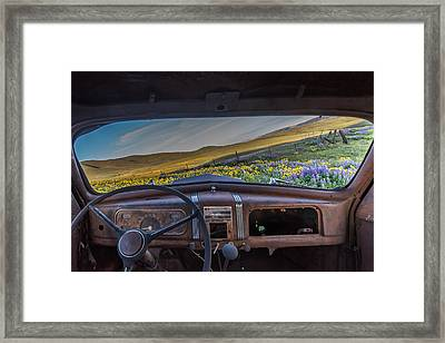 A Classics View Framed Print by Exquisite Oregon