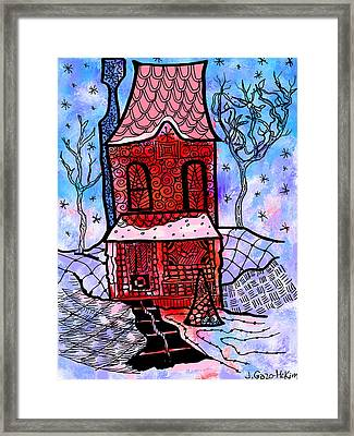 A Clear Path Framed Print by Jo-Anne Gazo-McKim