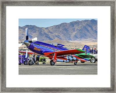A Closer Look At Voodoo Engine Start Sundays Unlimited Gold Race Framed Print