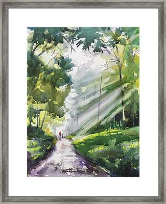 A Closer Walk With Thee Framed Print