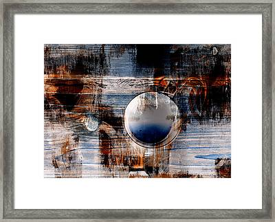 A Cloud Framed Print