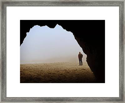 A Clouded View Framed Print by Marnie Patchett