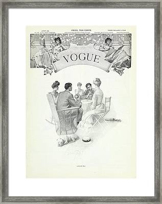 A Club Tea Framed Print