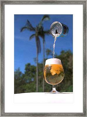 A Cold One Framed Print by John Bray