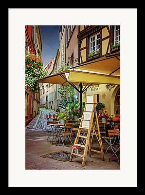 Alsace Digital Art Framed Prints