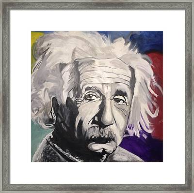 A Colorful Mind Framed Print by Robert Lewis