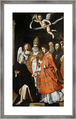 A Communion Of Martyrs Framed Print