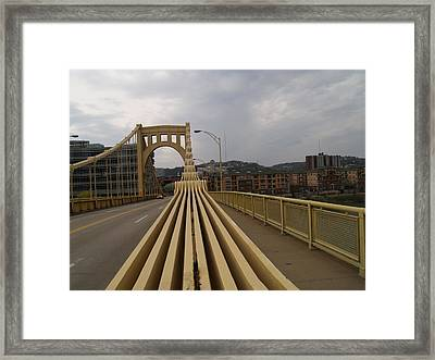 A Confounded Bridge Framed Print by Jacob Stempky