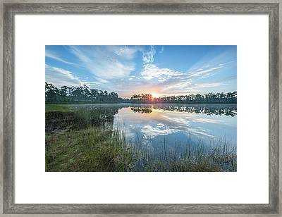 A Continuation Of Morning Framed Print by Jon Glaser