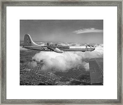 A Convair B-36f Peacemaker Framed Print by Underwood Archives