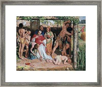 A Converted British Family Framed Print