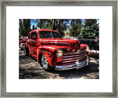 A Cool 46 Ford Coupe Framed Print
