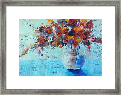 A Cool Spot Framed Print