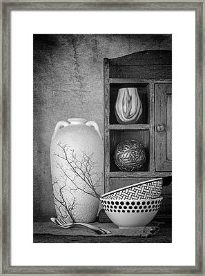 A Corner Of The Kitchen Framed Print by Tom Mc Nemar