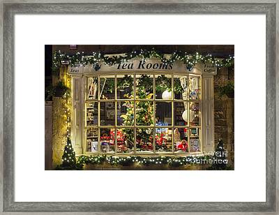 A Cotswold Christmas Framed Print by Tim Gainey