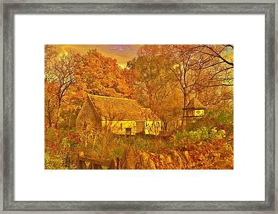 A Cotswald Fall  Framed Print by Daniel Thompson