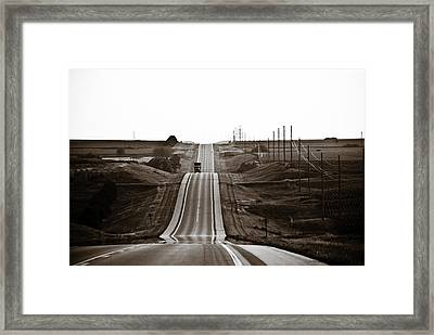A Country Mile 1 Framed Print