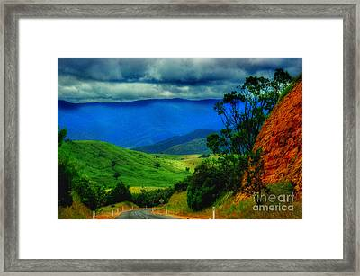 A Country Mile Framed Print by Blair Stuart