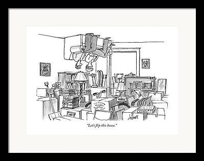 Storage Drawings Framed Prints