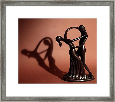 A Couples Dance Framed Print