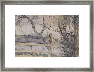 A Creek Runs Through It Framed Print by Susan Maxwell Schmidt