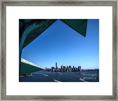 A Crowning View Framed Print