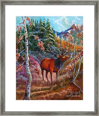 A Cry In The Wild Framed Print