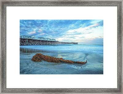 A Crystal Morning Framed Print by Joseph S Giacalone
