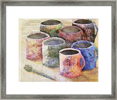A Cuppa Framed Print by Terry Honstead