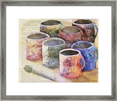 A Cuppa Framed Print