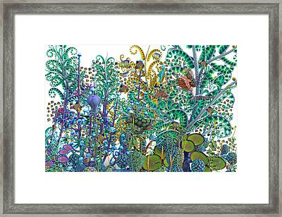 A Curious World Framed Print