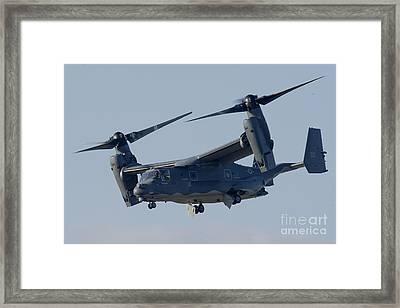 A Cv-22b Osprey Framed Print