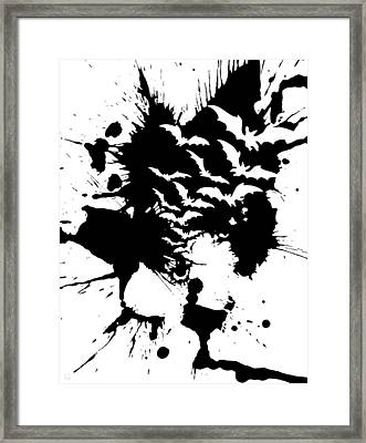 A Cyclops With Bats In His Belfry  Framed Print