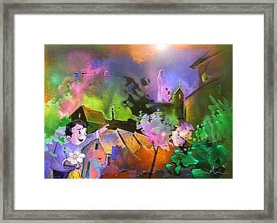 A Daisy For Mary Framed Print by Miki De Goodaboom