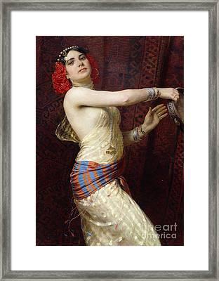 A Damascan Dancer Framed Print