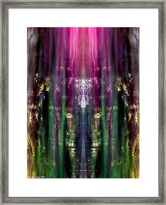 A Darker Vision Framed Print by Jane Tripp