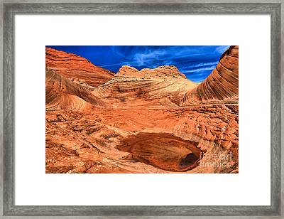 A Dash Of Water Framed Print by Adam Jewell