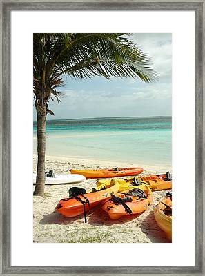 A Day After Play Framed Print by Lori Mellen-Pagliaro