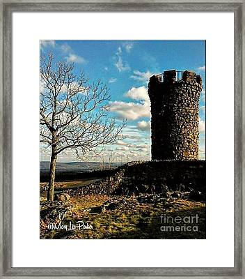 A Day At  Craigs  Castle   Framed Print