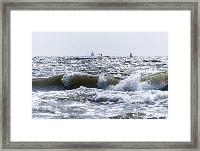 a day at the Beach part 1 Framed Print by Alex Hiemstra