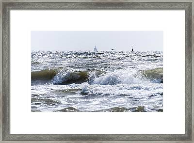 a day at the Beach part 2 Framed Print by Alex Hiemstra