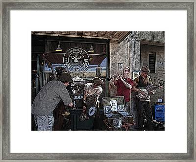 A Day At The Market 2 Framed Print