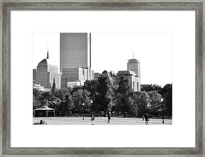 Framed Print featuring the photograph A Day At The Park by Corinne Rhode