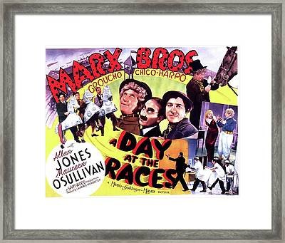A Day At The Races 1937 Framed Print by M G M