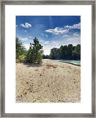 A Day At The River Framed Print by Scott D Van Osdol