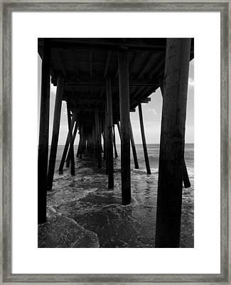 A Day At Virginia Beach #2 Framed Print