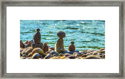 A Day Comes To An End Framed Print by Dee Browning