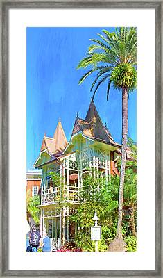 Framed Print featuring the photograph A Day In Adventureland by Mark Andrew Thomas